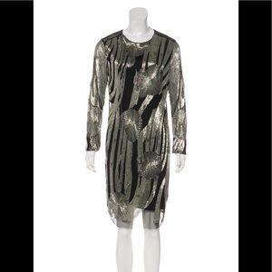 Rachel Roy Embellished Knee Length Dress sz L